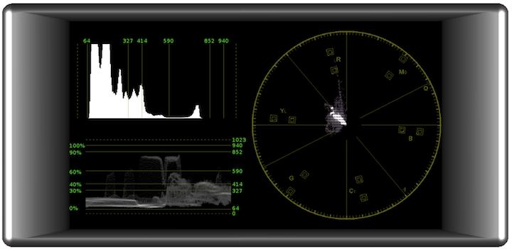 Transvideo StarliteHD measurements