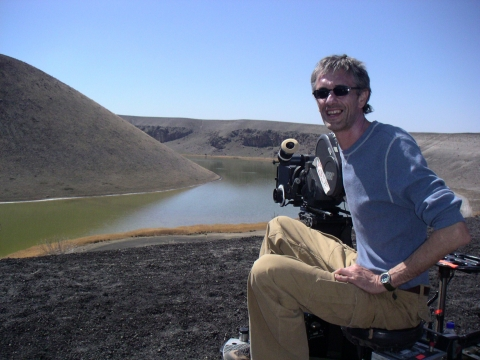 Bank commercial, shooting in Turkey 2007, with director Eric Will, shot on 35mm film with an ARRI 435 camera
