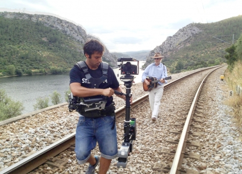 My first steps in Steadicam, shot for my own documentary ' Lost Raiana Song'