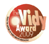 Vidy Award 2009 for the CineMonitorHD 3DView